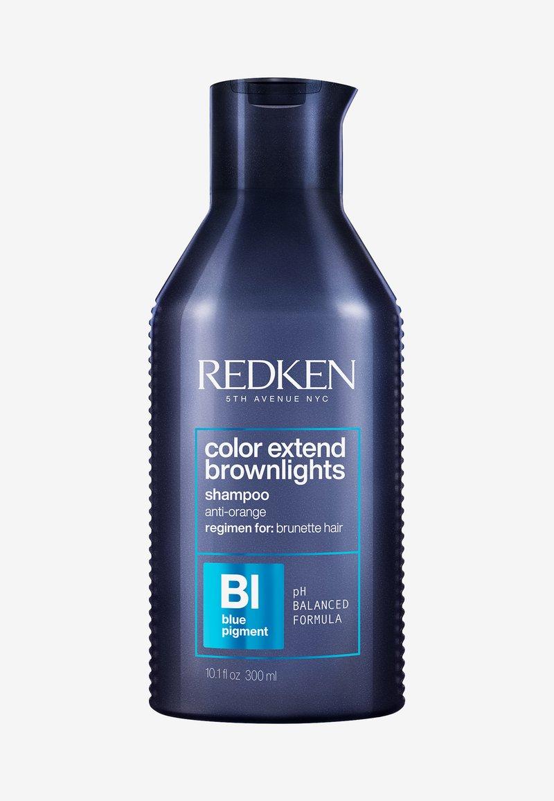 Redken - REDKEN COLOR EXTEND BROWNLIGHTS SHAMPOO - Shampoo - -