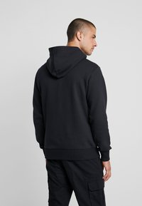 Calvin Klein Jeans - CHEST MONOGRAM HOODIE - Sweat à capuche - black - 2