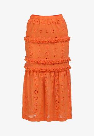 Maxi sukně - orange