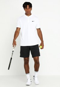 Nike Performance - DRY TEAM - Funkční triko - white/black - 1