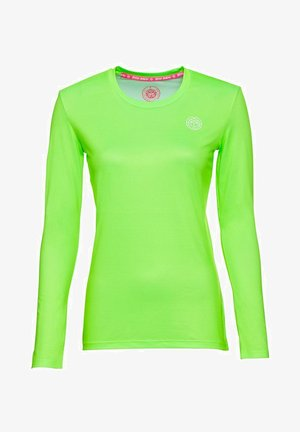 MINA - Long sleeved top - neon green