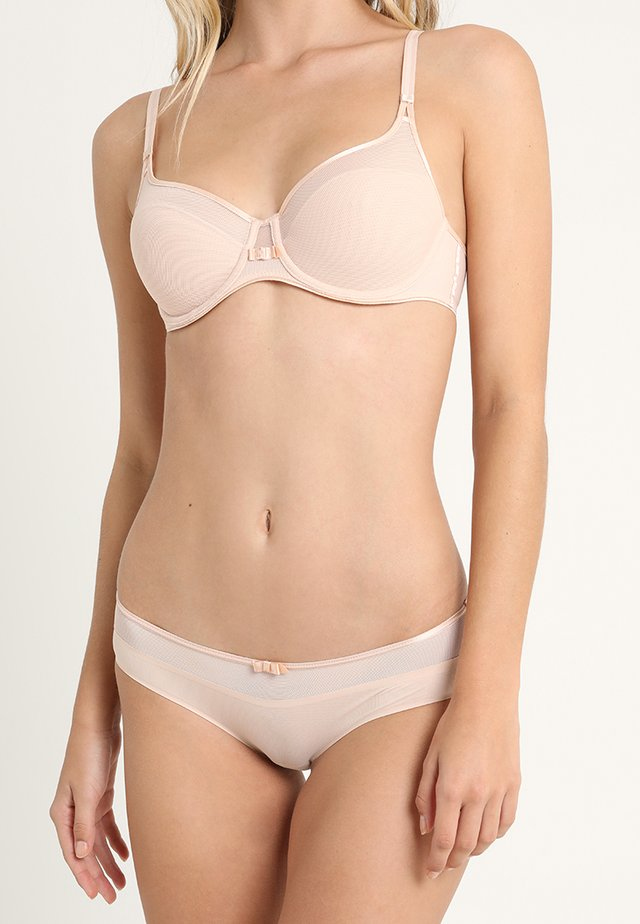 AERIA SHORTY - Briefs - beige doré