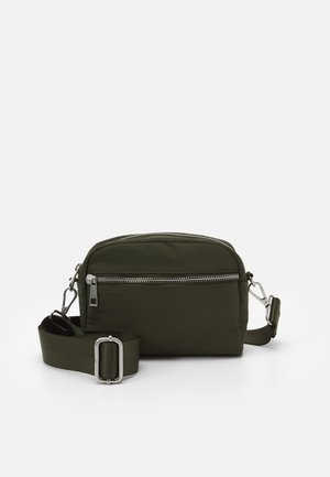 BAG HELLE - Skulderveske - dark dusty green