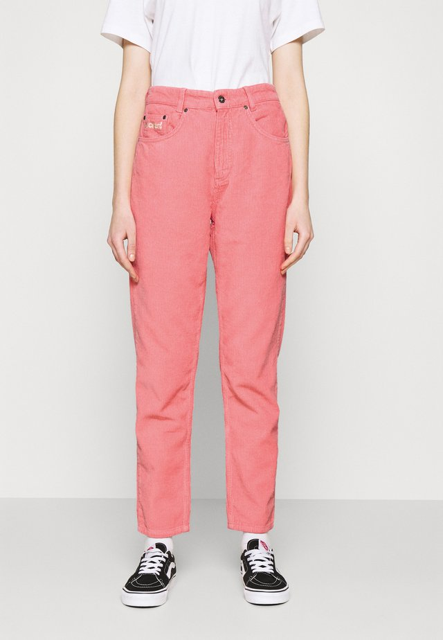 TROUSER - Stoffhose - pink