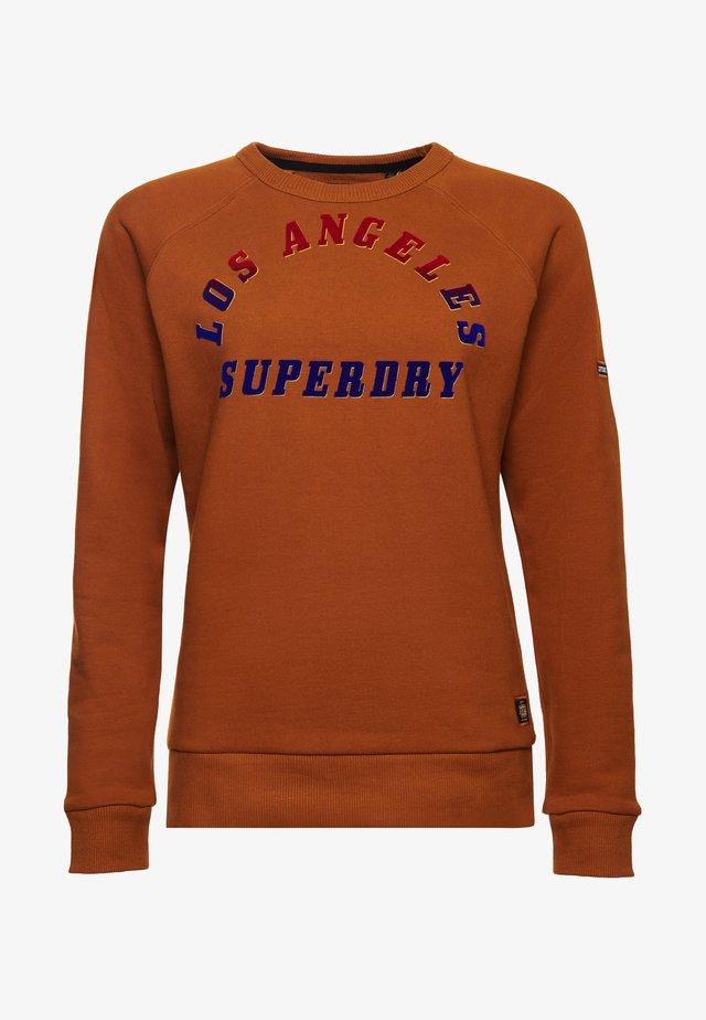 SUPERDRY BOHEMIAN - Sweatshirt - pumpkin spice