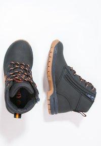 Kappa - CAMMY  - Hiking shoes - navy/orange - 1