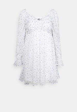 SHORT DRESS - Day dress - white
