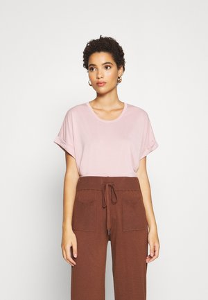 KAJSA - Basic T-shirt - pale mauve