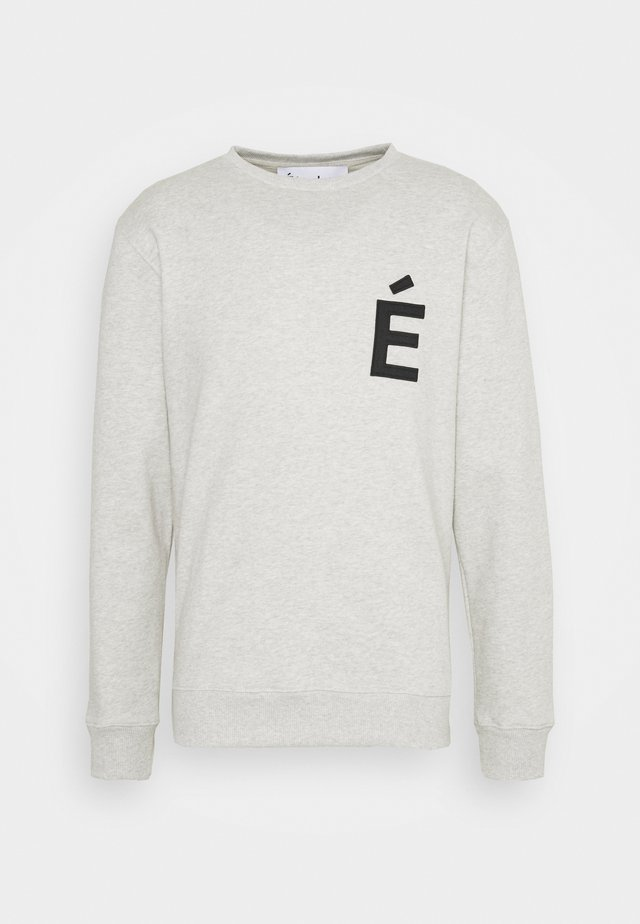 STORY PATCH UNISEX - Sweatshirt - heather grey