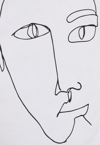 Monki - Skjortebluser - white carry faces - 6