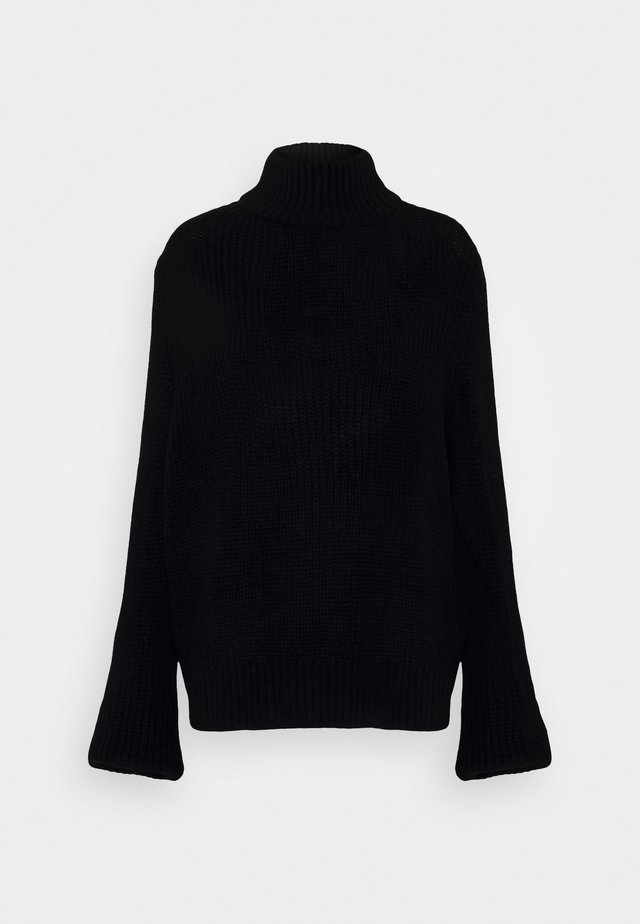 NMTOMMY HIGH NECK - Jumper - black