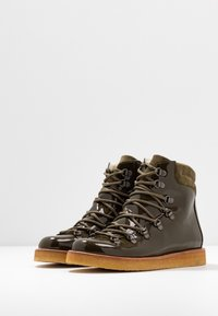ANGULUS - Lace-up ankle boots - khaki - 4