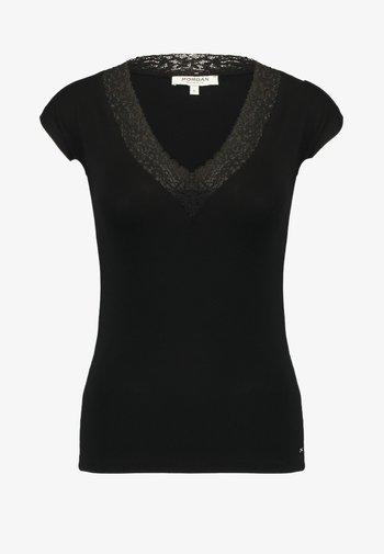 DTAG - Print T-shirt - noir
