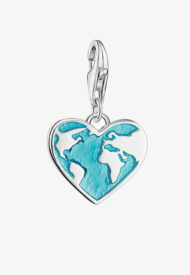 Pendentif - silver-coloured/turquoise