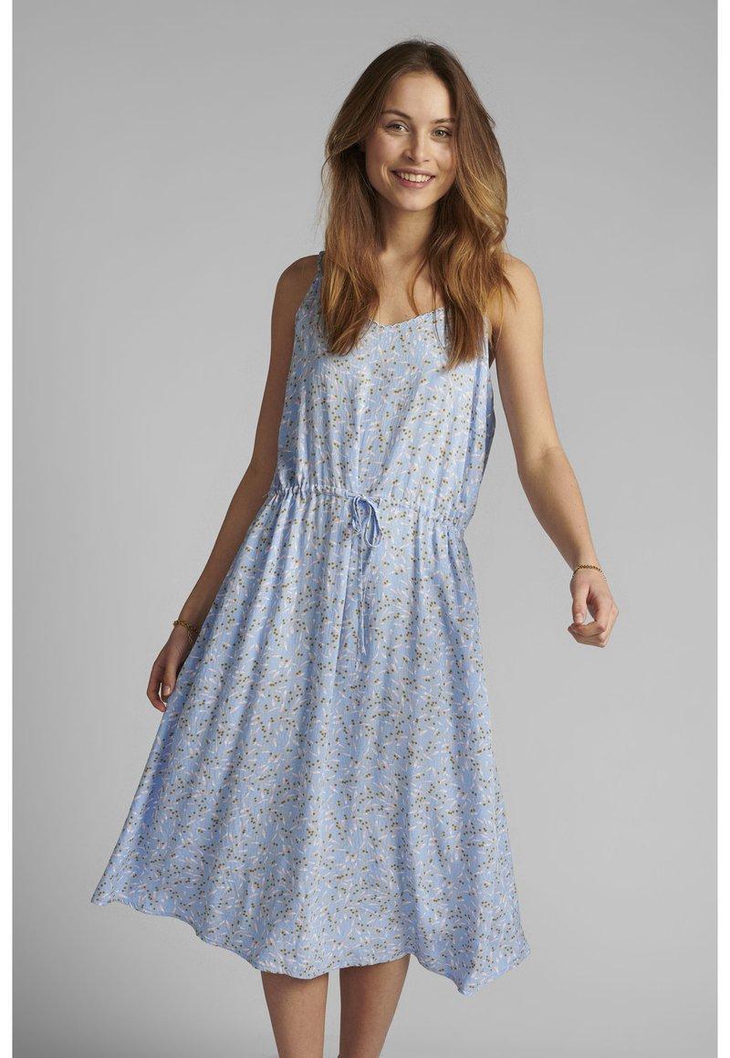 Nümph - NUCARMEL STRAPDRESS - Day dress - vista blue