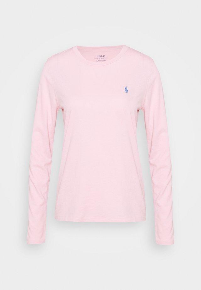 Top sdlouhým rukávem - garden pink