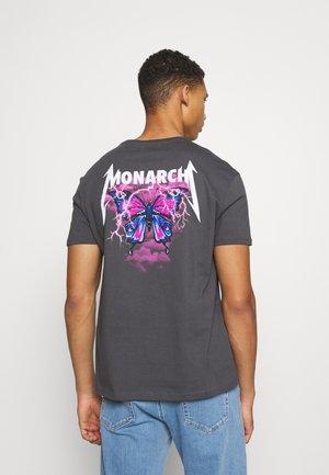 T-shirt z nadrukiem - anthracite
