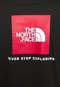 The North Face - MENS BOX TEE - Top sdlouhým rukávem - tnf black - 4