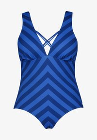 Ulla Popken - Swimsuit - kobaltblau - 2