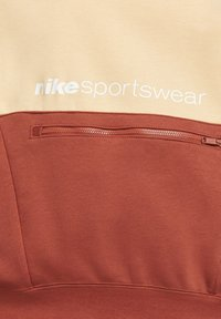 Nike Sportswear - HOODIE ARCHIVE - Hoodie - orange chalk/firewood orange/white - 4