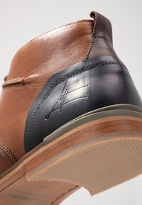 Bullboxer - Lace-up ankle boots - cognac - 5
