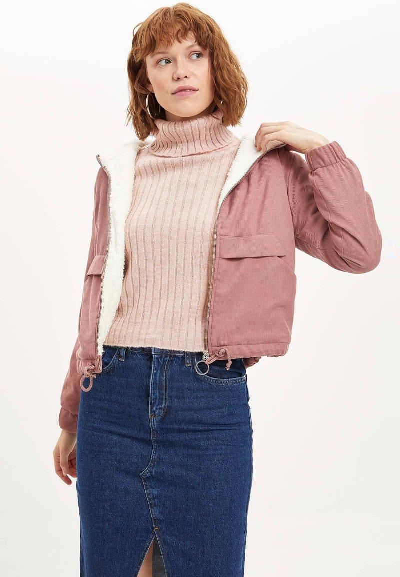 DeFacto - Light jacket - pink