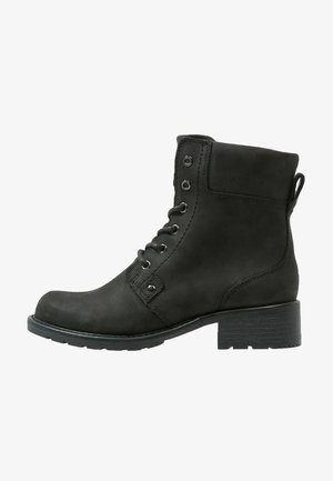 ORINOCO SPICE - Lace-up ankle boots - black