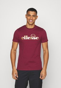 Ellesse - MAGI - Print T-shirt - burgundy - 0