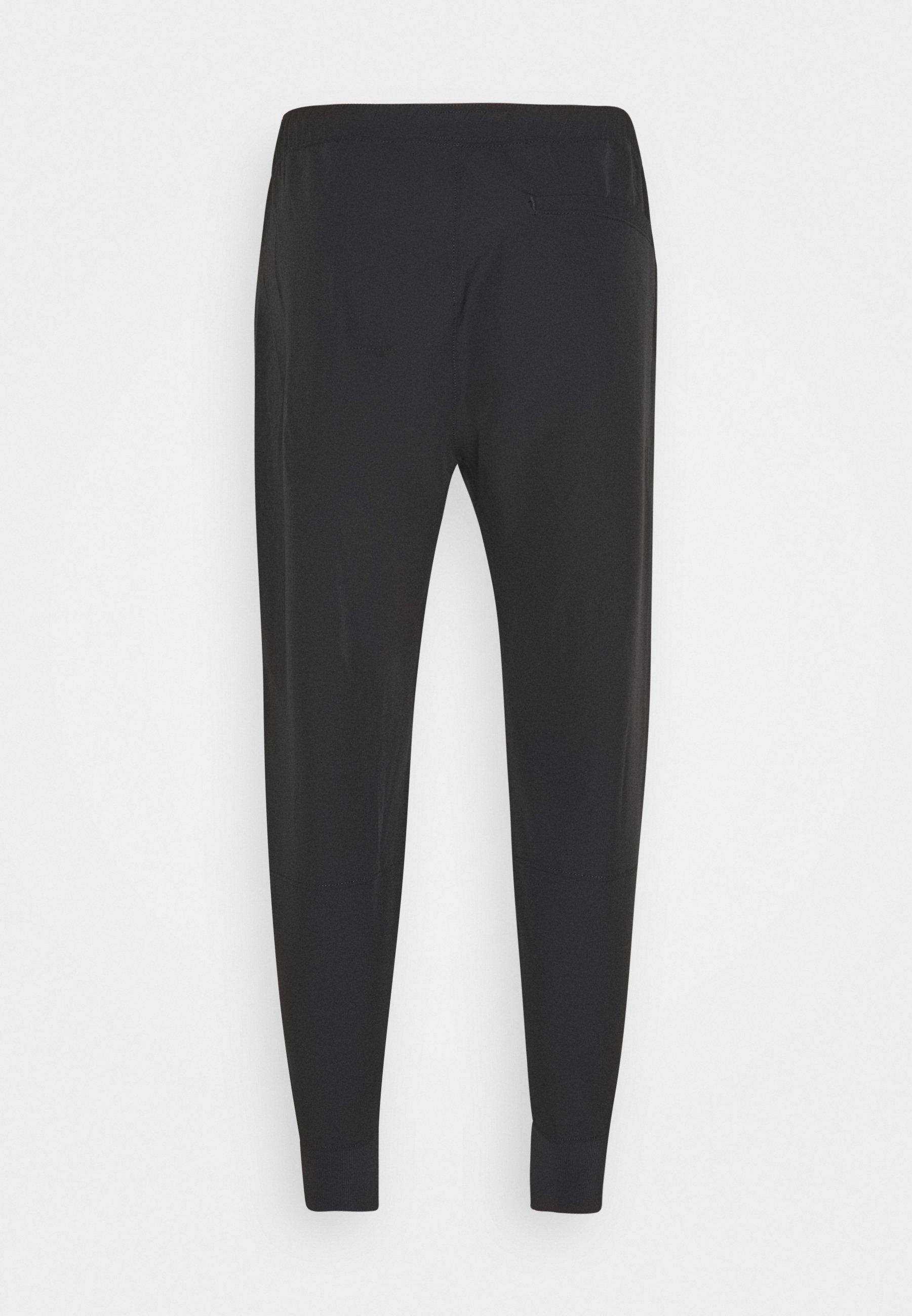 Abercrombie & Fitch TRAVELER JOGGER - Pantalon classique - black