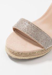 New Look - PACIFIC - Korolliset sandaalit - oatmeal - 2