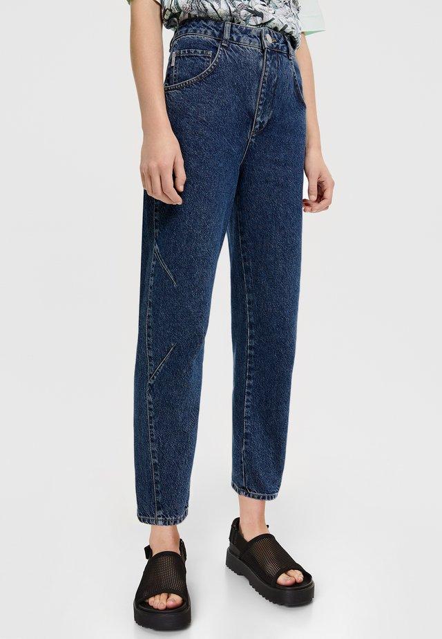 Straight leg jeans - denim blue