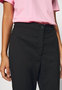 Monki - WENDY TROUSERS - Trousers - black - 5