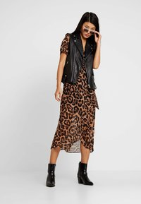 Bardot - LEOPARD WRAP DRESS - Maxi dress - multi-coloured - 2