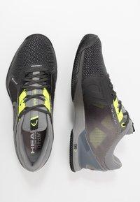 Head - SPRINT CLAY - Tenisové boty na antuku - black - 1
