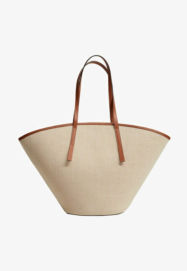 PIANA - Tote bag - beige