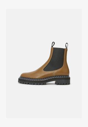 COMBAT CHELSEA BOOT - Classic ankle boots - khaki