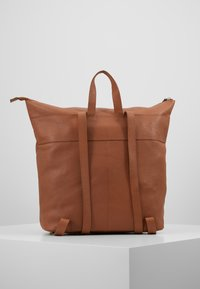 Zign - LEATHER - Reppu - cognac - 2