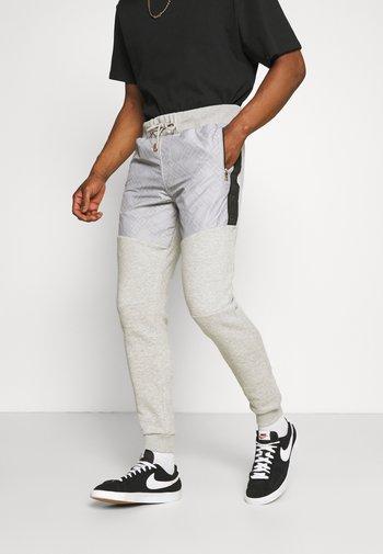 ABELLO  - Pantaloni sportivi - grey marl