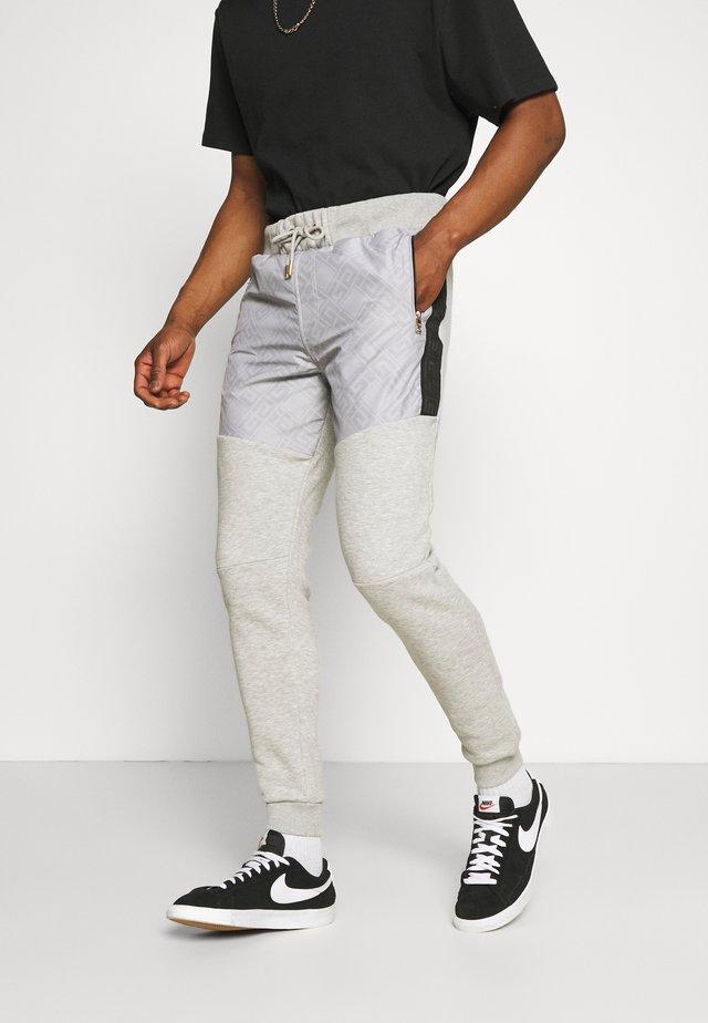 ABELLO  - Teplákové kalhoty - grey marl
