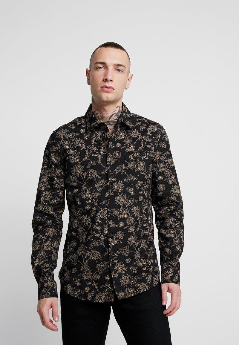 New Look - JACOBEAN FLORAL - Camicia - black