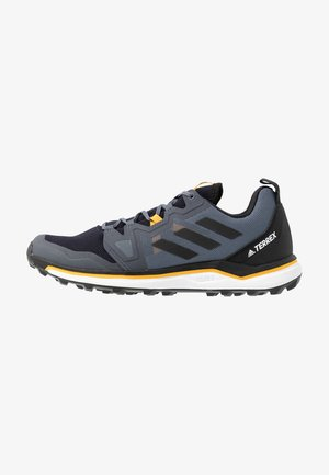 TERREX AGRAVIC - Trail running shoes - tech indigo/core black/legend ink