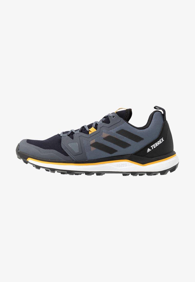adidas Performance - TERREX AGRAVIC RUNNING - Obuwie do biegania Szlak - tech indigo/core black/legend ink