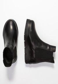Bianco - CLEATED  - Platåstøvletter - black - 3