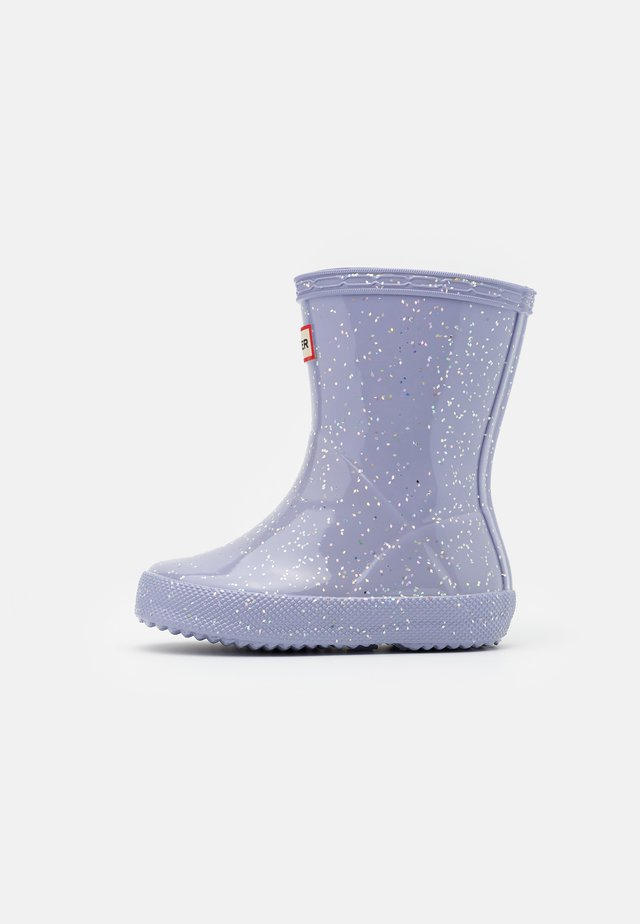 KIDS FIRST CLASSIC GIANT GLITTER - Wellies - pulpit purple