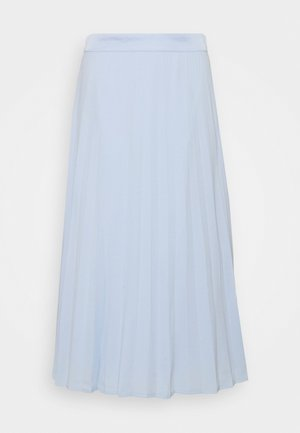 Pleated skirt - pastel blue