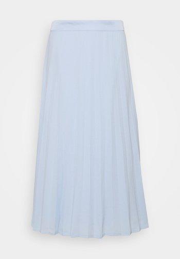 Pleated skirt - pastel blue