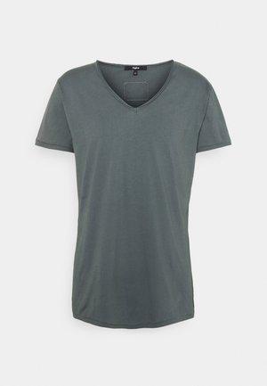 MALIK - T-shirt - bas - asphalt