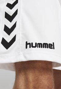 Hummel - CORE SHORTS - Sports shorts - white - 4