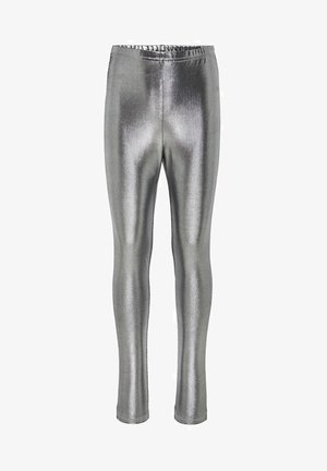Leggings - Trousers - silver