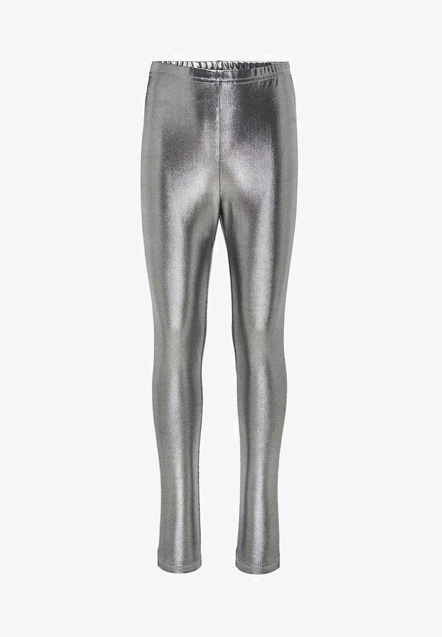 Leggings - Hosen - silver